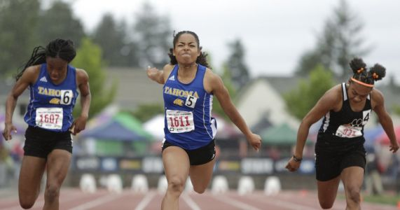 State girls track and field: Again in a rout, Tahoma wins third consecutive team title