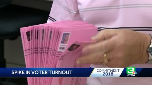 CA counties with new vote model see higher turnout