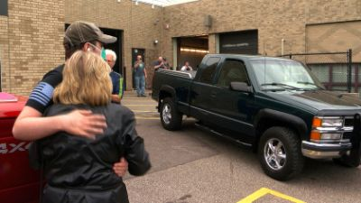 Harding Student, Out For Medical Treatment, Gets Surprise From Automotive Class