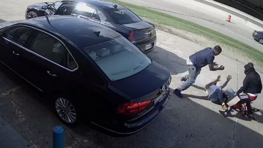 Men went after a woman for her purse, containing $75K. She fought back