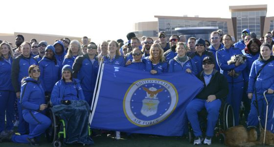 2018 Air Force Wounded Warrior Trials begin