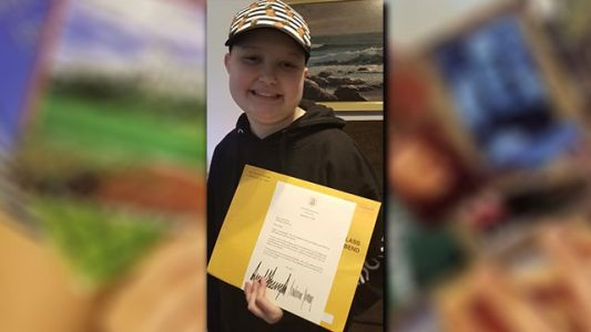 Girl battling leukemia receives messages from Tom Hanks, Toby Keith, the Trumps