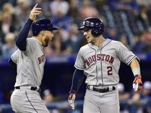 Astros win 100th, close in on 2nd straight AL West title