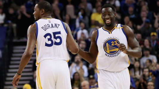 Kevin Durant, Draymond Green out for Friday's game vs. Bulls