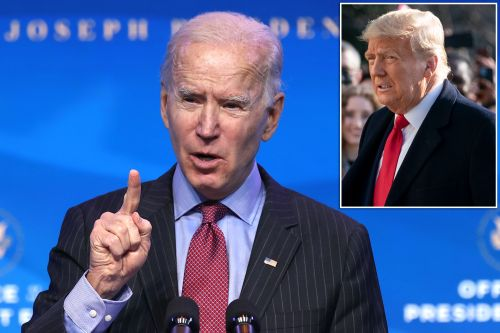 Joe Biden speaks out after Trump impeachment