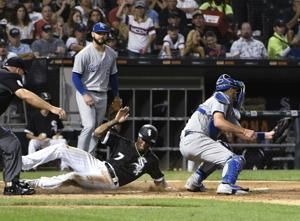 Abreu, Delmonico 3-run HRs power White Sox over Royals 9-3
