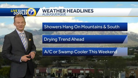 Drying trend ahead!