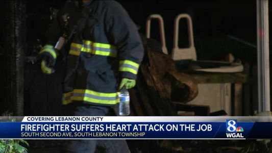 Firefighter suffers heart attack at fire scene in Lebanon County