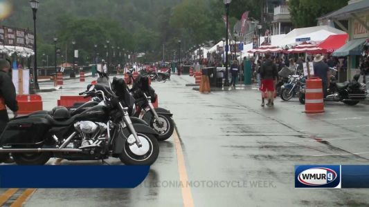 Laconia Motorcycle Week ends on a rainy note