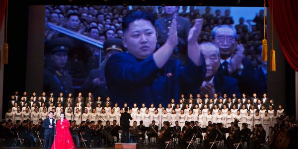 North Korea's massive art troupe and orchestra could help show unity with South Korea at the Winter Olympics - or it could be a propaganda gambit