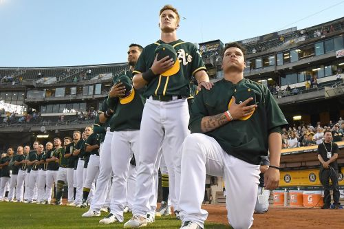 MLB's only national anthem kneeler is no more