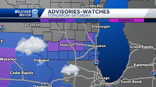 Winter Storm Watch issued for Southeast Wisconsin
