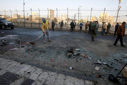 Dozens dead after twin blasts in Baghdad