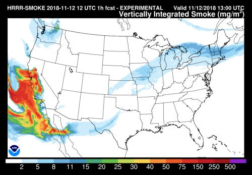 Some smoke plumes from California wildfires reach New Hampshire