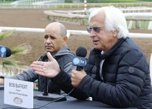 Baffert savors journey with another Triple Crown in reach