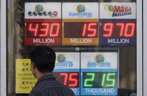 """Mega Millions lottery ticket sales at """"fever pitch"""" in Oklahoma"""
