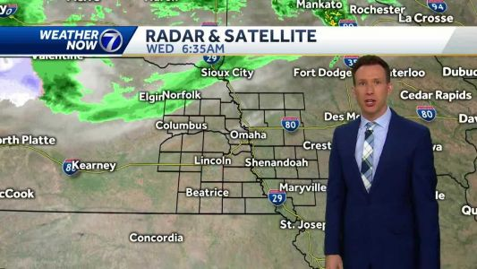 The sun is back Wednesday, storms return tomorrow night