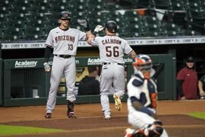 Calhoun homers twice in Arizona's 6-3 win over Houston