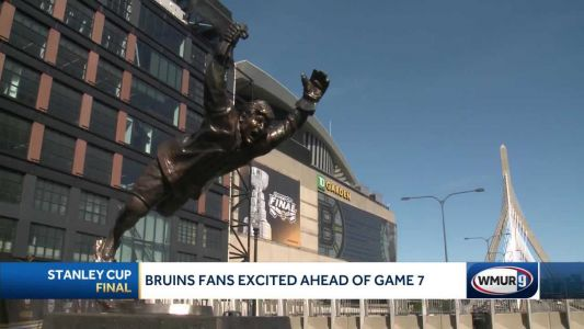 Bruins fans fired up for Game 7 of Stanley Cup