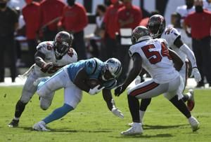 Motivated Davis ready to replace Panthers All-Pro McCaffrey
