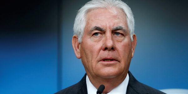 Tillerson on North Korea: 'I will continue our diplomatic efforts until the first bomb drops'