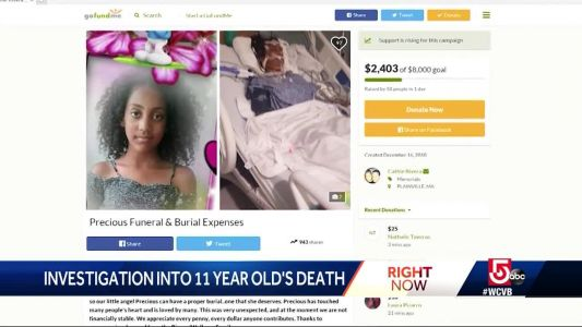 Police investigating 11-year-old's death