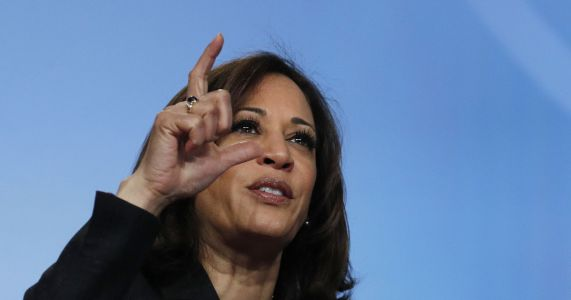 Harris to seek federal investment on teacher pay, aide says
