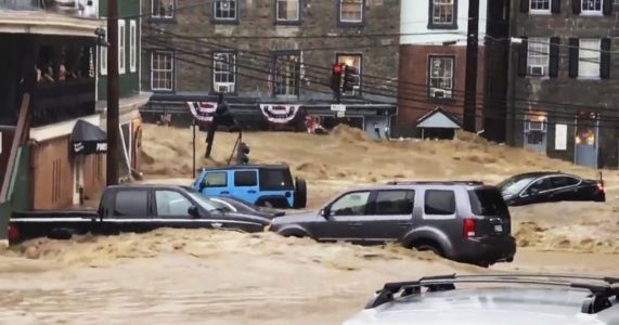 Authorities: Flash flood surges through Maryland community