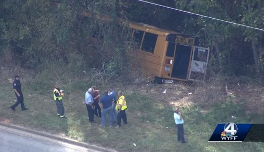 17 children, 4 adults injured in Upstate school bus crash, officials say