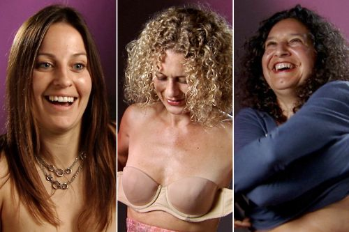 How stripping down taught these women to love their boobs