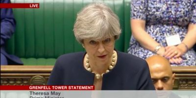 Theresa May says that tests have found more 'combustible' cladding on tower blocks
