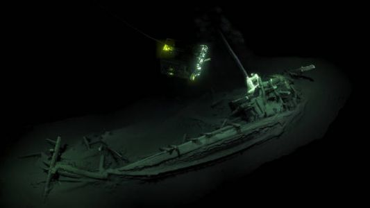 'Oldest intact shipwreck know to mankind' found in depths of Black Sea