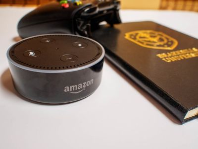 Tell Alexa how much money you saved buying the Echo Dot for $40 today!