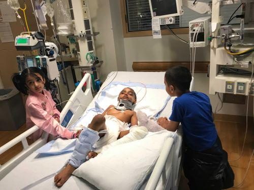 Family calls recovery of 7-year-old struck by vehicle a 'miracle'