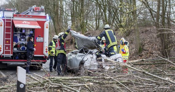 Storm's death toll in Germany rises to at least 8