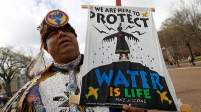 Private security firm compared DAPL protesters to 'jihadist insurgency' - leaked documents