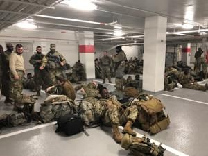 National Guard 'feel betrayed,' allowed back into Capitol complex after banishment to parking garage