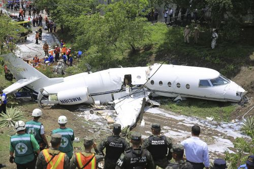 Five Americans survive after private jet broke into pieces in Honduras