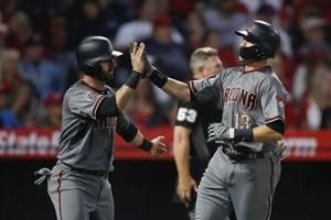 Dyson's catch, Goldschmidt's HR lead Arizona past Halos, 7-4