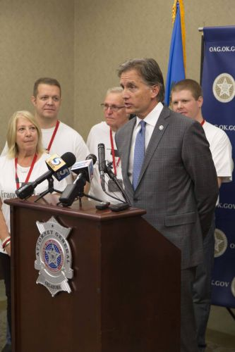 Oklahoma AG announces proposed legislation to help solve cold, missing person cases