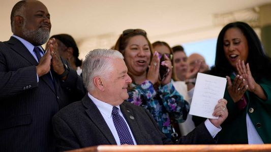 Nevada governor signs law that purportedly gives that state 1st presidential primary