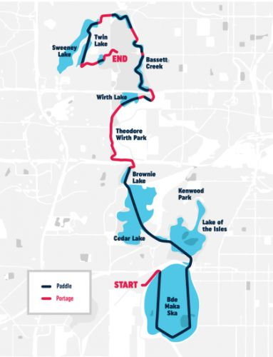 Paddleboarders, Canoers & Kayakers Called To 'Urban Portage' Race On Chain Of Lakes