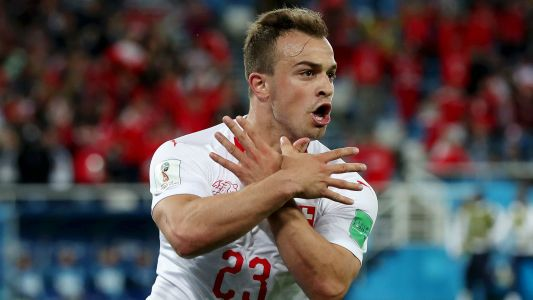 Shaqiri & Xhaka escape World Cup bans but hit with FIFA fines for Swiss goal celebrations