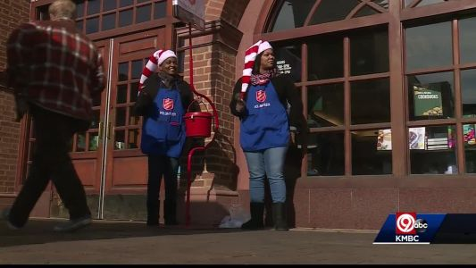 Salvation Army less than halfway to its goal before Christmas