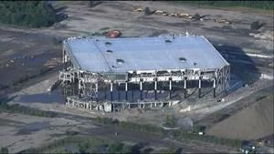 Pistons' onetime home, the Palace of Auburn Hills, torn down