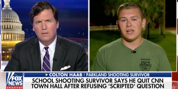 CNN denies claims that Florida shooting survivor was given a 'scripted' question to ask at a town hall