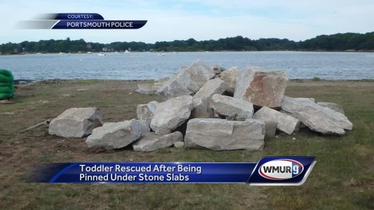Portsmouth toddler released from hospital after rock rescue