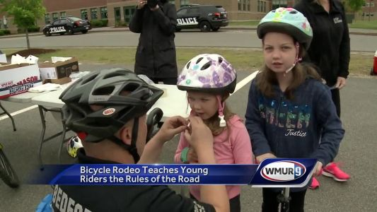 Seventh-annual Bicycle Rodeo held at Bedford High