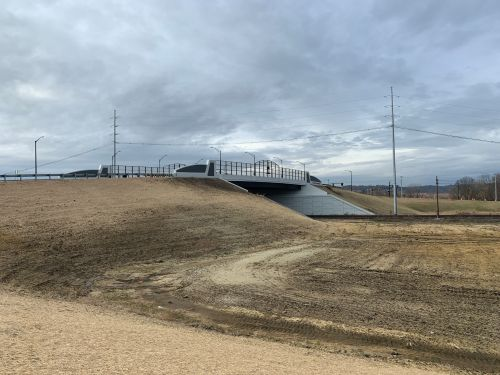 New overpass dedicated to unofficial 'Mr. Hamilton,' Jim Blount