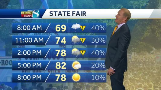 Wet weather persists for damp Wednesday
